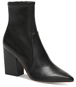 Loeffler Randall Women's Isla Block-Heel Booties