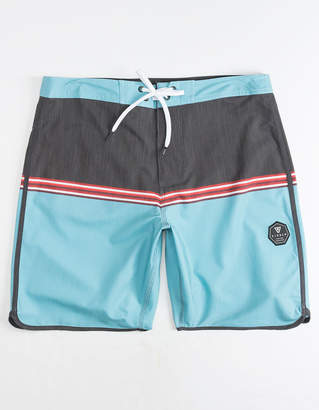 VISSLA Dredges Light Blue Mens Boardshorts