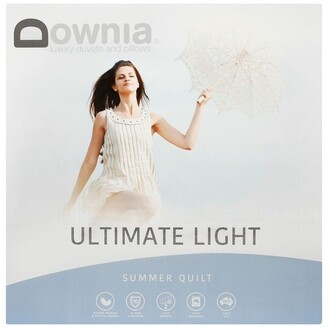 Downia DOWNIA Ultimate Light Summer 50/50 White Duck Down & Feather
