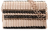 Nancy Gonzalez Bamboo Woven Crocodile Shoulder Bag