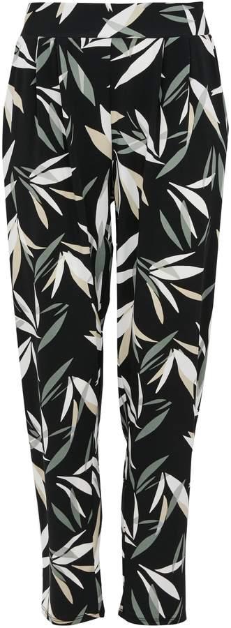 814d429584ad Petite Black Viscose Trousers - ShopStyle UK