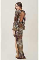 Alexis Silk Jael High-Low V Neck Dress