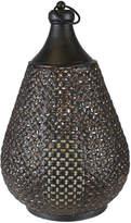 Sagebrook Home Pierced Lantern
