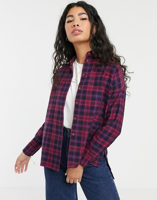 People Tree handwoven check shirt