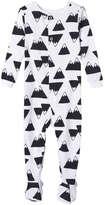 Joe Fresh Baby Boys' Essential Print Sleeper, White (Size 0-3)