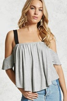 Forever 21 Contemporary Open-Shoulder Top