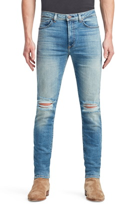 Monfrere Greyson Ripped Skinny Fit Jeans