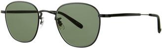 Garrett Leight Men's World 49 Metal Sunglasses