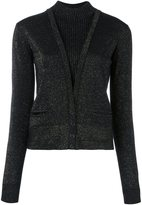 Just Cavalli layered effect knitted cardigan