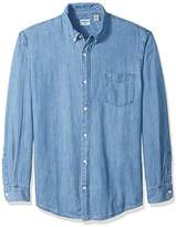 Dockers Big and Tall Long Sleeve Chambray Button Front Shirt
