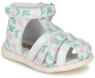 GBB AGRIPINE girls's Sandals in Green