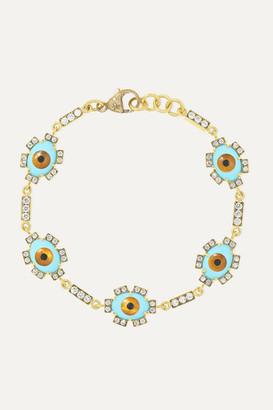 Sylva & Cie 18-karat Gold Multi-stone Bracelet