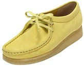 Clarks Wallabee, Women's Moccassins, Yellow (Pale Lime Nubuck), 6 UK (39.5 EU)