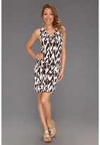 Tommy Bahama Zig Saw Dress (Brazil Nut) - Apparel