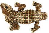 Kenneth Jay Lane Alligator Crystal Bangle