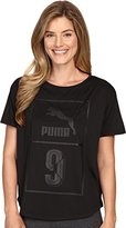 Puma Women's Short SLeeve Top