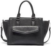 Sole Society Johnson medium satchel w/ front pocket