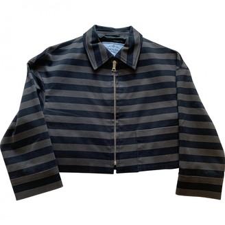 Prada \N Anthracite Cotton Jackets