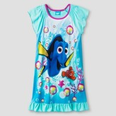 Finding Dory Girls' Finding Dory® Nightgown - Blue