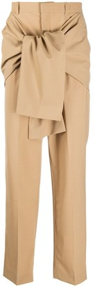 Cmmn Swdn Front Tie Fastening Trousers