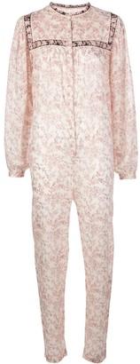 Etoile Isabel Marant Floral Print Cotton Jumpsuit