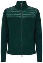 Moncler Dual Texture Zipped Cardigan