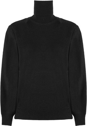 Maison Margiela Black Wool-cashmere Blend Jumper