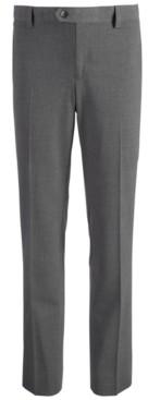 DKNY Big Boys Stretch Gray Dress Pants