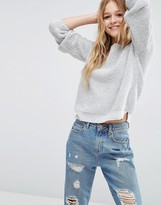 Asos Chunky Sweater In Recycled Eco Yarn