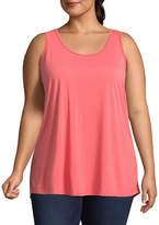 Boutique + + Knit Tank Top - Plus