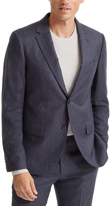 Club Monaco Flannel Grant Wool Blazer
