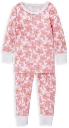 Aden Anais Baby's & Little Girl's 2-Piece Flower Print Pajama Set