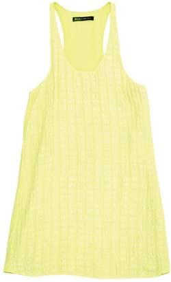 Balenciaga Yellow Silk Dresses