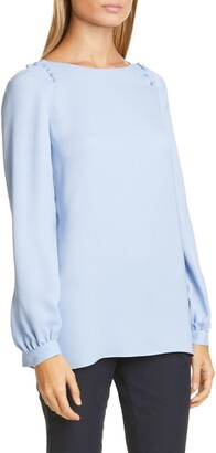 Lafayette 148 New York Albright Blouse