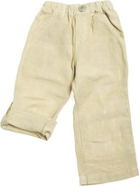 BIT'Z KIDS - Boy's Linen Roll Up Pants