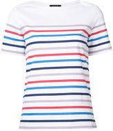 A.P.C. striped T-shirt - women - Cotton - XS