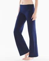 Soma Intimates Essential Cotton Blend Pants Peacoat Blue
