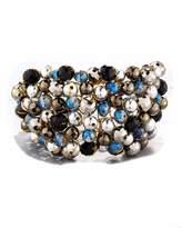 Nakamol Wire-Wrapped Beaded Cuff Bracelet, Multi