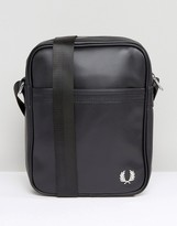 Fred Perry Flight Bag In Pique Black