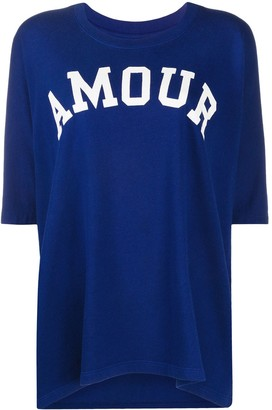 Zadig & Voltaire Amour print T-shirt