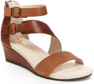 Jambu Asymmetrical Wedge Sandals - Capri