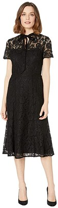 Lauren Ralph Lauren Agenta Dress (Black) Women's Dress