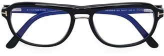 Tom Ford TF5538B control eyeglasses