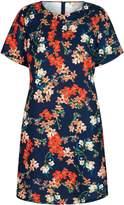 Yumi Blossom Printed Tunic Dress