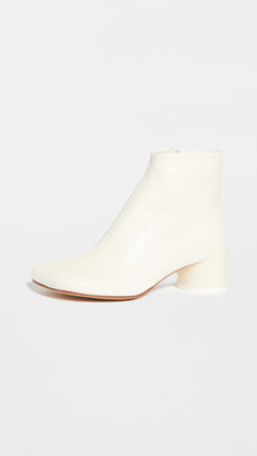 MM6 MAISON MARGIELA Square Toe Low Ankle Boots