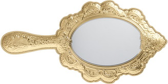 Moschino Hand Mirror Faux Leather Clutch