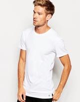 Esprit Longline Oversized T-shirt - White