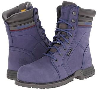 Caterpillar Echo Waterproof Steel Toe (Marlin) Women's Work Boots