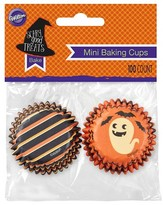 Wilton 100 Count Mini Baking Cups - Ghost