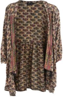 Black Colour - Desert Pink Luna Boho Kimono
